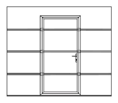 Znížený prah dverí - typ BASSO (výška prahu 30 mm)